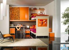grey Wardrobe Decoration Idea For Small Bedroom