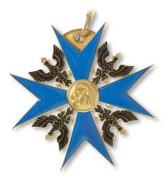 Black Eagle Order, Prussia, Grand Cross Awarded to Duke Ernst I of Saxe-Coburg and Gotha (1784-1844).