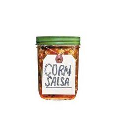Corn Salsa - I used 2 bags of frozen corn kernels instead of fresh ears.  Lots of raves!