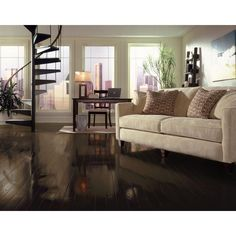 Bruce American Originals Flint Oak 3/8 in. Thick x 3 in. Wide Engineered Click Lock Hardwood Flooring (22 sq. ft. / case)-EHD3275L - The Home Depot