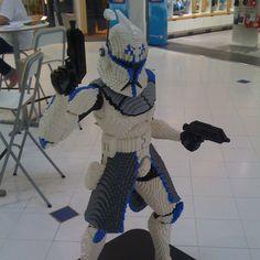 Sculpture Lego