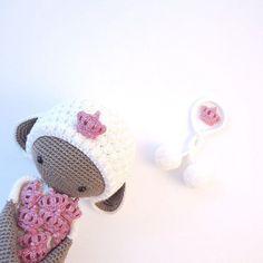 LUPO the lamb made by Sade / crochet pattern by lalylala