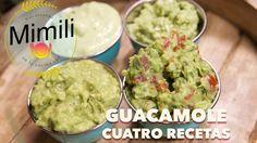 Guacamole 4 maneras de preparar - Receta Facil - Novateando en la Cocina...