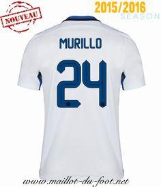 4b5c8dc6a90261 boutiques du Maillot de foot Inter Milan MURILLO 24 Exterieur 2015 2016 pas  chere. Nicolas T · Maillots