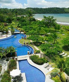 best hotels in Costa Rica: Los Suenos Marriott Ocean Golf Resort Affordable Hotels, Best Hotels, Ecuador, Backyard House, Costa Rica Travel, Marriott Hotels, Travel And Leisure, Vacation Spots, Beautiful Beaches