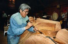 Haida sculptor Robert Davidson