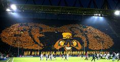 Les supporters du Borussia Dortmund, qui reçoit le Real Madrid mercredi soir en demi-finale de la Ligue des champions, sont réputés bouillants. Leur tifo en quart de finale retour contre Malaga a fait le tour du monde.