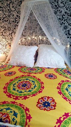 NEW SUZANI BED COVER/ WALL HANGING/ SOFA