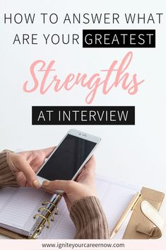 Job Interview Tips / Interview Preparation - Prepare examples using the S.T.A.R. method.  If you don't know what that is – make sure you get yourself a copy of my FREE eBook by signing up on this page.  ***Top Tip: Wherever possible, choose a strength that matches the needs and requirements of the target role. Again, look over the job description. Can you see 5 of your strengths in there? #jobinterview #interviewtips