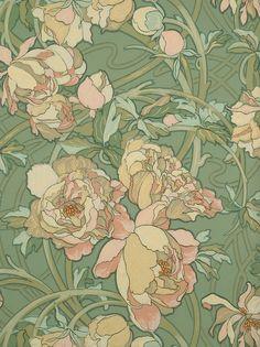 Papiers peints de la seconde moitié du 19e siècle - Musée du Papier Peint, Rixheim, France
