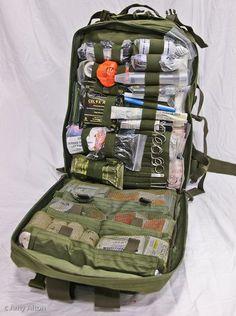 Survival Medical Kit | Active Shooter First Aid Kit | Trauma Medical Kit - Doom and Bloom #bushcraftmedicalkit