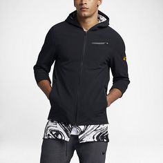 fa3f6e249198 Mens Nike Dry Black MVP BHM Basketball Jacket 885851010 Size Therma for  sale online