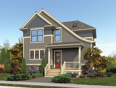 This 2 story Craftsman features 2202 sq feet. Call us at 866-214-2242 to talk to a House Plan Specialist about your future dream home!