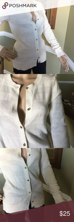 Gorgeous 😃 Like new gold tone buttons worn once 😃 Banana Republic Sweaters Cardigans