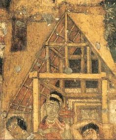 Indian Heritage - Painting - Ajanta Cave paintings - Producing Depth & Relief
