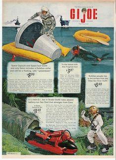 Vintage Toys 1960s, Retro Toys, Vintage Ads, 1960s Toys, Gi Joe, Retro Advertising, Vintage Advertisements, Childhood Toys, Childhood Memories