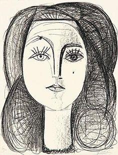 Frage: @Picassomuseum Gibt es im Bestand des Museums eigentlich von allen Lebensgefährtinnen Picassos ein Kunstwerk? #AskACurator #Grafik #Picasso.     Antwort: @MuseumsHeld Wir haben Portraits von Dora M., Francoise G. und Jacqueline R., zu dieser Zeit hat Picasso Grafiken geschaffen #askacurator    Bildquelle: http://www.gutefrage.net/media/fragen-antworten/bilder/21019378/1_big.jpg