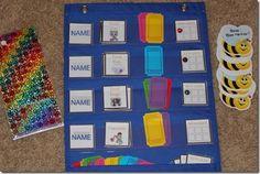 Pinterest job chart ideas for classroom- preschool, kindergarten                                                                                                                                                     More