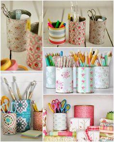 Ideas para reciclar latas de conserva