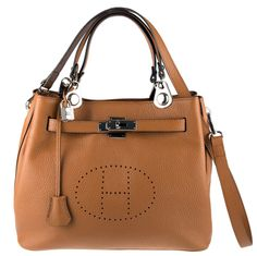 H Bella Tan Leather Bag - H Bella - Leather Handbags | New Collection