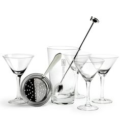 Via Garibaldi 12 - Vetrina on-line - Accessori bar - DRY - - set Martini - james bond