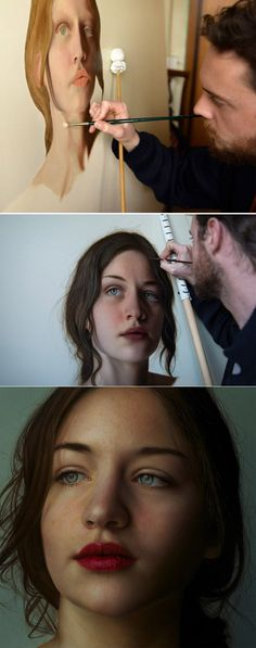 Marco Grassi http://marcograssipainter.com/ | When I first saw the picture I thought it was a photograph, someone modeling for the picture. But that is a PAINTING. Someone PAINTED that. Let that sink in. So much incredible talent.