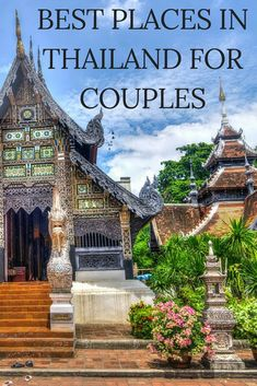 If you're planning to go on a honeymoon or just want to get away with your romantic partner to an exotic location, you might want to consider Thailand. There are romantic places that Thailand can offer besides their beautiful beaches. Romantic Destinations, Romantic Vacations, Romantic Getaways, Honeymoon Destinations, Romantic Travel, Amazing Destinations, Honeymoon Planning, Best Honeymoon, Romantic Honeymoon