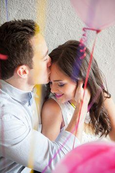 colourful kisses