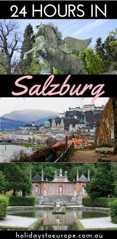 Make the most of your visit to Salzburg with our guide to spending 24 hours in the city.  There are plenty of things to do in Salzburg to appeal to everyone.  Click the image to read our suggestions for how to spend a day in Salzburg including where to stay and where to eat.  #austria #salzburg #travelblog