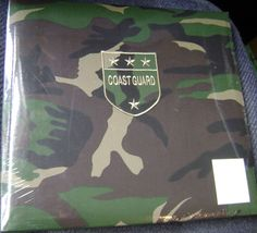 Coast Guard Patch Camouflage Scrapbook Military US Soldier New Sealed 24 pages #KCompany