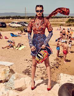 Bella Hadid for Vogue Japan 2016