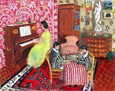 Matisse, Pianista e giocatori di dama, 1924