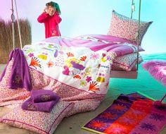 La Petite Sirene Reverible Duvet & Sham Set by Catimini Bedding at Gilt Kids Room Furniture, Furniture Decor, Deco Marine, French Kids, Teen Bedding, Childrens Beds, French Brands, One Bedroom, Bean Bag Chair