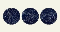 Nautical Constellation Map Celestial Decor, Large Horizontal Vintage Star Print set with Framed Art option, Circular Art Constellations, Constellation Art, Large Prints, Fine Art Prints, Celestial Map, Star Images, Star Chart, Triptych, Picture Wall