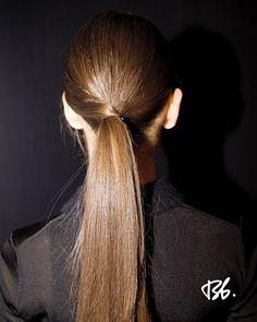 Style - Minimal + Classic: Fall/Winter Fashion Week. Hair by Bb. Stylist Neil Moodie. #fashionweek #fashion #hair #bumbleandbumble #style