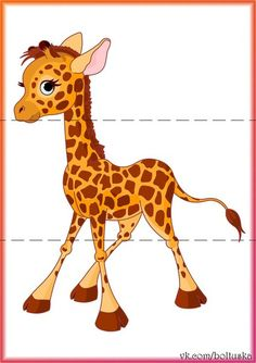 Jungle animal art for toddlers activities 70 ideas Preschool Learning Activities, Animal Activities, Preschool Activities, Kids Learning, Jungle Animals, Baby Animals, Emotions Preschool, Giraffes Cant Dance, Animal Puzzle