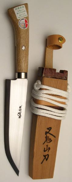 MATAGI NAGASA Knife 210mm Blade oak Wood Handle. http://yhst-27988581933240.stores.yahoo.net/matagi-nagasa-knife-210mm-blade-oak-wood-han210.html