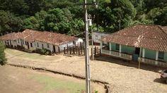 Conjunto de casas de agricultores, Fazenda de Cacau