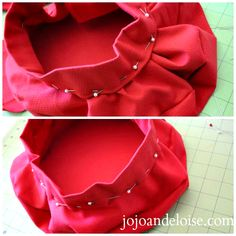 Tutorial: easy beret style make without a pattern