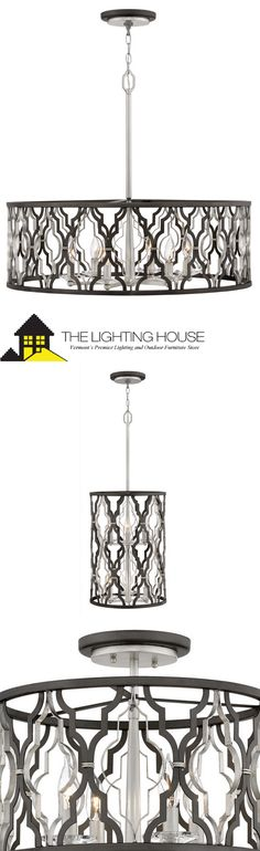 Six Light Pendant Dining Area, Dining Room, Pendant Lighting, Chandelier, Ceiling Fan, Ceiling Lights, Candle Cups, Lighting Showroom, Metal Finishes