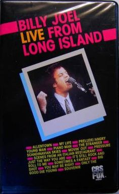 Live From Long Island....He*s our songman  wrote most of his songs about Long Island,  love him