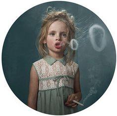 smoking kiddie