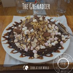 It was our final meal before leaving with some of Tinas family, and we headed to the Grenadier in Hove, East Sussex. Tina has a big local family so it was the perfect location, and when booking the table it was no issues at all to book a large table on a Saturday