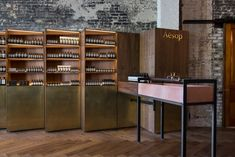 Frieda Escobedo has created interiors for two new Aesop stores in Florida – one in Coconut Grove, and a second inside a neoclassical building in Tampa.