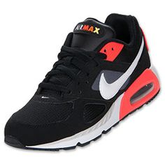 The Nike Air Max IVO Running Shoes have retro '90s-inspired color schemes and that old-school look while also providing feet with the same great technology that has been keeping them comfortable for decades.  The elongated Nike Swoosh and visible Air Max unit are timeless visible characteristics of the shoes, and included in their construction is a lightweight mesh and textile upper, which allows for breathability and support.  You won't have to worry about sliding around in these babies…