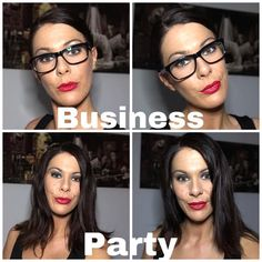 Glasses, Business, Awesome, Makeup, Check, Fashion, Eyewear, Make Up, Moda