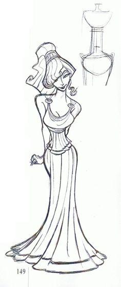 Disney Princesses - Les Heroines Disney - Meg, Esmeralda, Jane