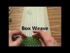 Weaving Techniques - YouTube