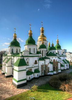 St. Sophia, Kiev (HDR) by Roads Less Traveled Photography, Ukraine again