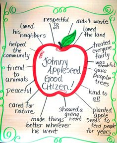 First Grade Wow: Johnny Appleseed